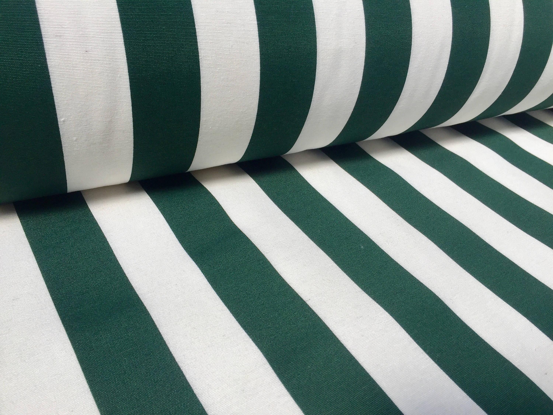 Khaki White Striped Fabric Sofia Stripes Curtain Upholstery