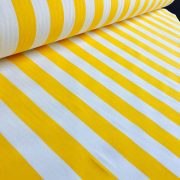 White Striped Fabric Stripes Curtain Upholstery Material 140cm