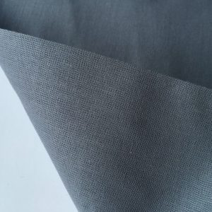 Plain Grey 100% Cotton Fabric Material for curtains dressmaking decor -  115cm wide per metre