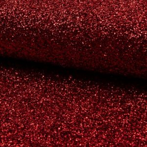 SPARKLE Red TINSEL 4 way stretch fabric material /140cm wide / Sparkling RED Lurex