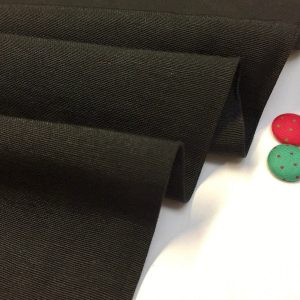 Plain Ottoman Fabric For Curtains Upholstery Cotton Canvas Material 140cm Wide BLACK
