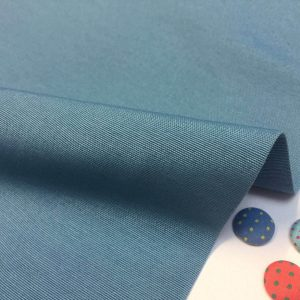 Plain Ottoman Fabric For Curtains Upholstery Cotton Canvas Material 140cm Wide BLUE