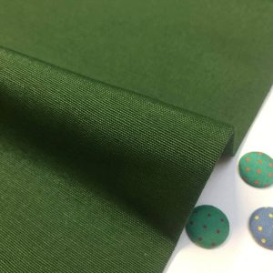 Plain Ottoman Fabric For Curtains Upholstery Cotton Canvas Material 140cm Wide DARK GREEN