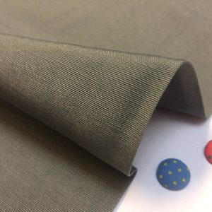 Plain Ottoman Fabric For Curtains Upholstery Cotton Canvas Material 140cm Wide GREY