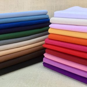Plain Ottoman Fabric For Curtains Upholstery Cotton Canvas Material - 280cm Extra Wide