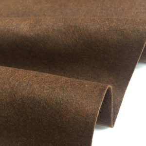 Felt Fabric Material Craft Plain Colours Polyester 102cm Wide BROWN