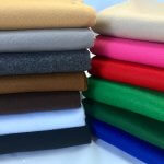 Felt Fabric Material Craft Plain Colours Polyester 102cm Wide GREY