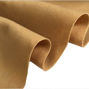 Felt Fabric Material Craft Plain Colours Polyester 102cm Wide HONEY