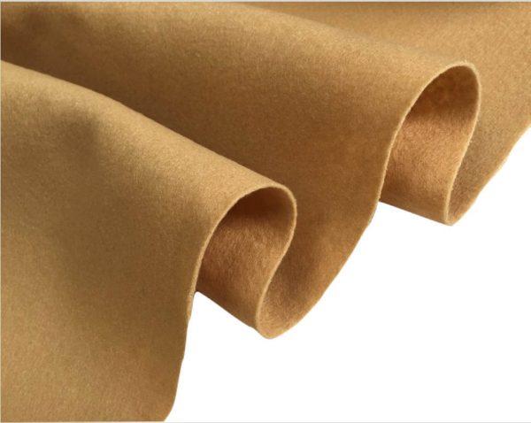 Felt Fabric Material Craft Plain Colours Polyester 102cm Wide HONEY