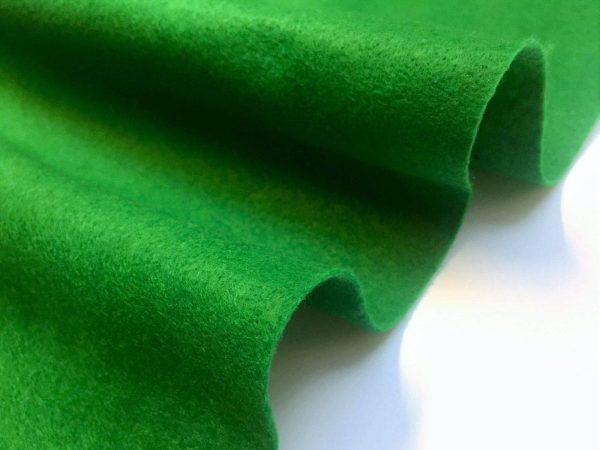 Felt Fabric Material Craft Plain Colours Polyester 102cm Wide LIGHT GREEN