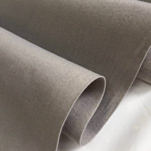 Felt Fabric Material Craft Plain Colours Polyester 102cm Wide SILVER GREY