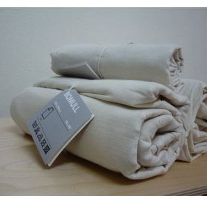 IKEA Bomull Unbleached Uncoloured 100% Cotton Curtain Lining Fabric - 150cm wide - sold by the metre