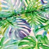 TROPICAL LEAVES 2 Palm Leaf Fabric Curtain Upholstery Cotton Material - 280cm Extra Wide