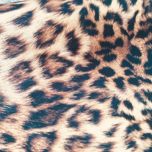 "Leopard Print Cotton Fabric for Curtains Upholstery / panther animal fur digital print material / 110"" extra wide"