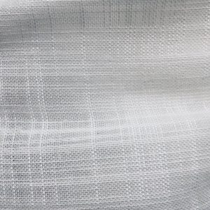 White Inbetween Voile Tulle Organza Fabric sheer curtain net - 300cm EXTRA WIDE