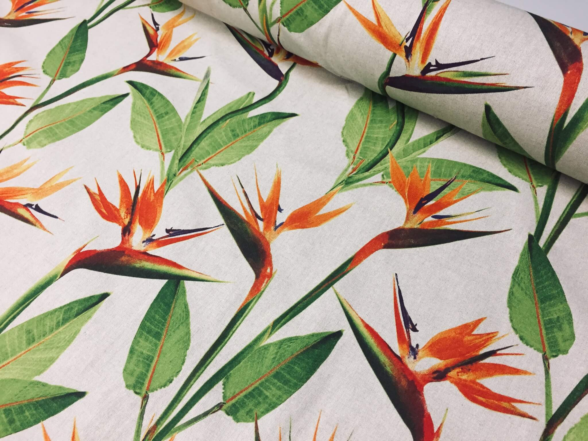 bird-of-paradise-ginger-plant-floral-fabric-orange-curtains-upholstery-140cm-wide-5c069f261.jpg
