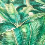 PALMS Palm Fronds Leaf Tree Fabric Tropical Leaves Material for Curtains, Upholstery, Home Decor - digital print fabric - 136cm (54'') wide