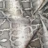"GREY Snake Skin Fabric Snakeskin Animal Print Cotton Material DIGITAL - curtains, decor, dress, furnishing - 55""/140cm wide"