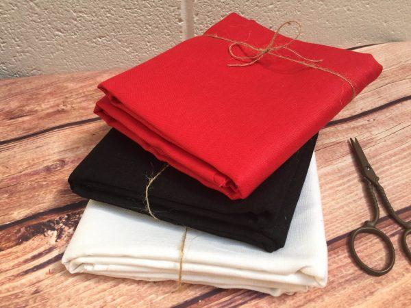 Soft Linen Fabric Material -  100% Linens Textile for Home Decor, Curtains, Clothes - 140cm wide - Plain RED