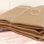 Soft Linen Fabric Material - 100% Linens Textile for Home Decor, Curtains, Clothes - 140cm wide - Plain TAUPE BROWN