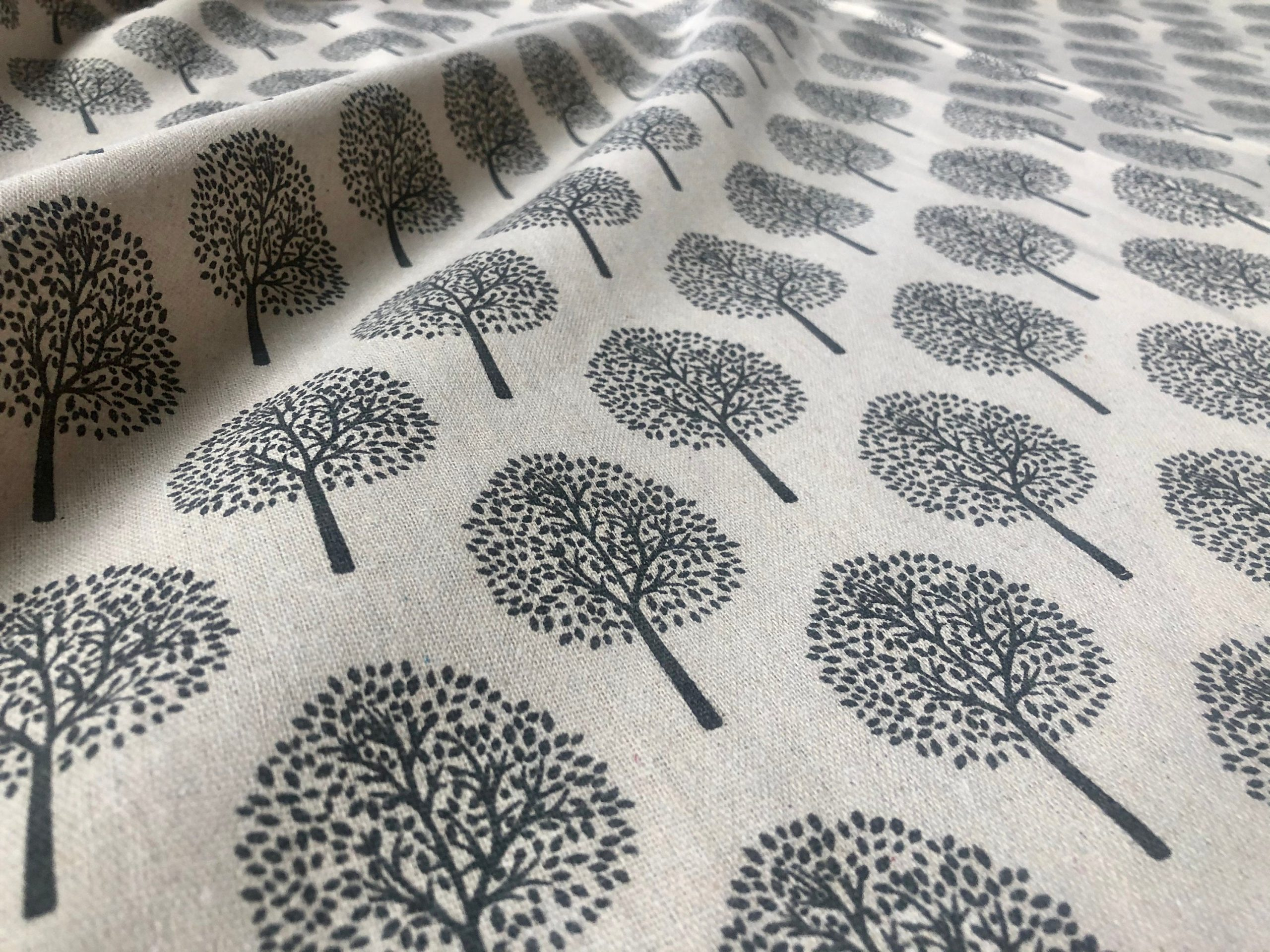"""BEIGE Mulberry Tree Cotton Linen Fabric Natural Light Grey Hessian Jute Material Home Decor Curtain Upholstery- 59""""/150cm Wide Canvas"""
