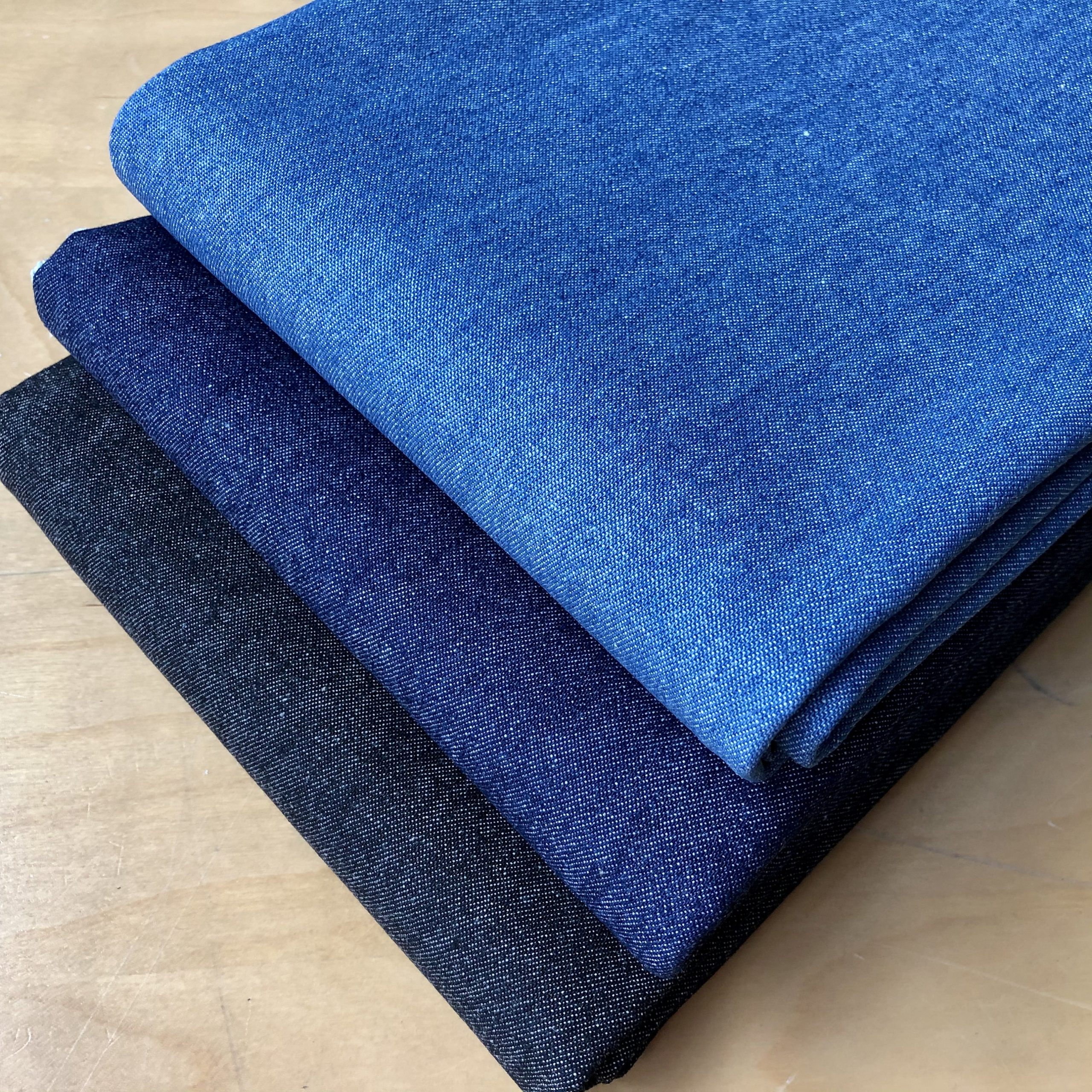 """7.5oz Denim Fabric Washed Jeans Dressmaking Cotton Upholstery Material – 57""""/148cm wide"""