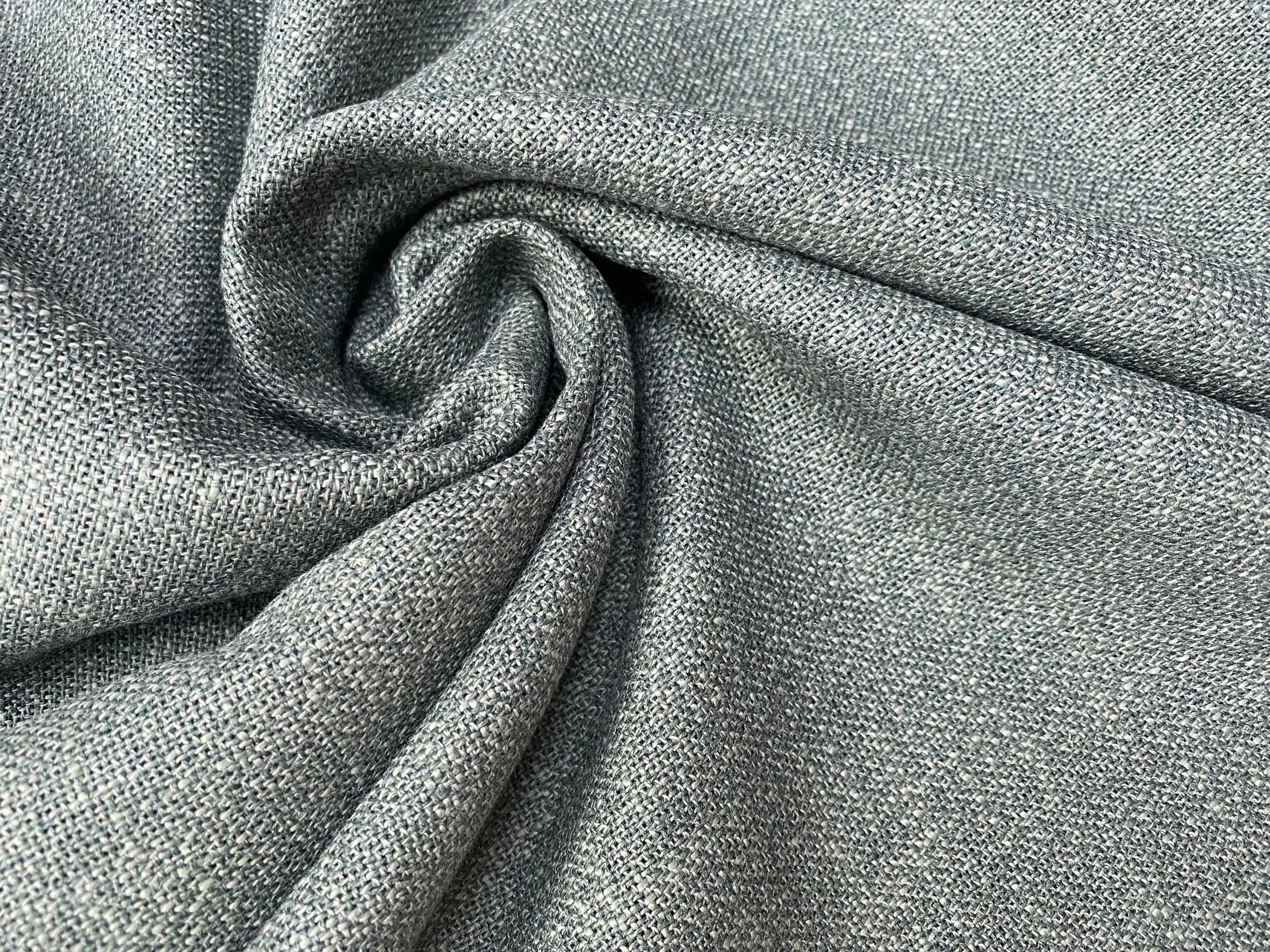 Butcher's Linen Fabric Material –  100% Linen for Home Decor, Curtains, Clothes – 152cm or 59″ Wide – Plain DUCK GREEN